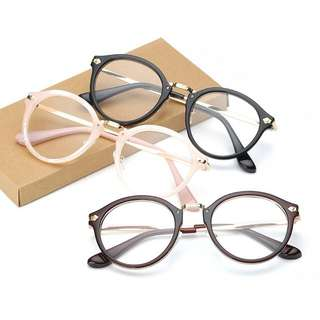 [PO] Ulzzang Fashionable Trendy Glasses/Spectacle Frames