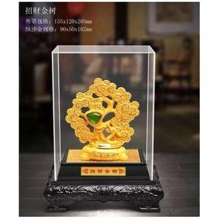 招财带玉金树Lucky jade with gold tree - 44