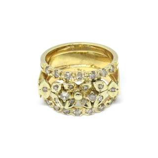Lady Ring with diamonds
