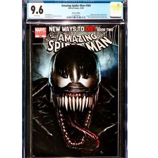CGC 9.6  Amazing Spider-Man #569 variant Anti-Venom first appearance comic