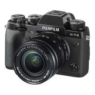 NEW - Fujifilm X-T2 with 18-55mm lens