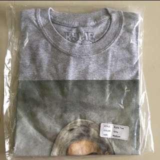 Kylie Jenner grey tee t shirt