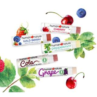 Flavored Lip Balm 4g by HUMAN❤NATURE
