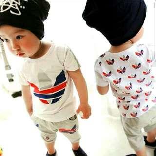 kids casual set wear.