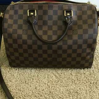 Speedy bandouliere Louis Vuitton authentic