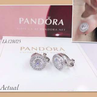 Pandora earrings clip style