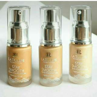Latulipe stay smooth foundation