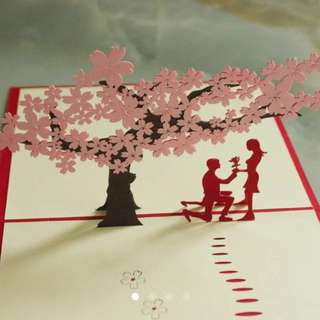 Valentine present valentine gift proposal engagement valentine card valentine's day gift