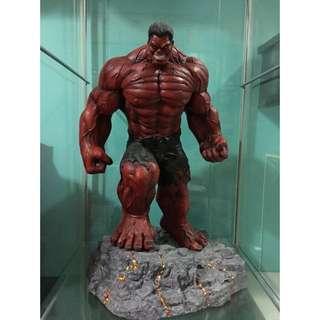 Custom Red Hulk Rulk 1/5 Statue