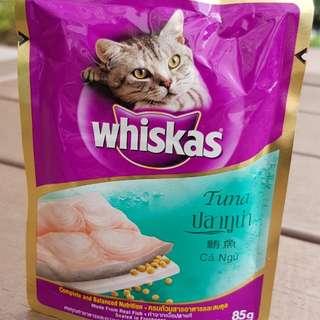 WHISKAS Tuna Pouch Cat Food 85g