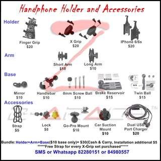 Handphone Holder & Accessories