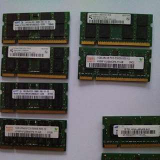 Laptop Ram 1GB PC2-5300S DDR2 667