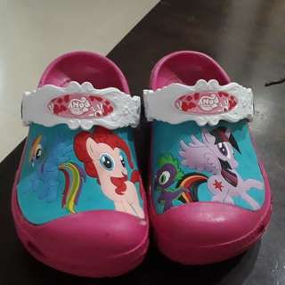 BN My Little Pony Crocs (Pasar Malam Grade)