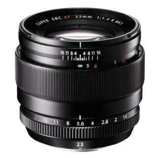 Fujifilm XF 23mm f1.4 R Lens Brand New
