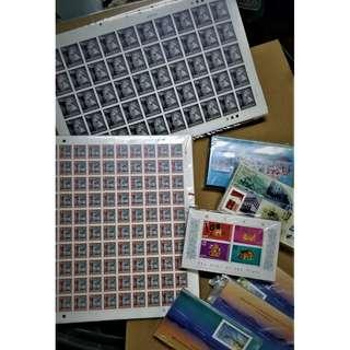 大批郵票、印樣、火花、商標招紙及錢幣 清倉批量轉售