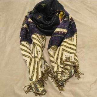 民族風頸巾圍巾