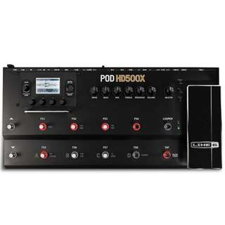 Line 6 POD HD500X Guitar Multi Effects Floor Processor
