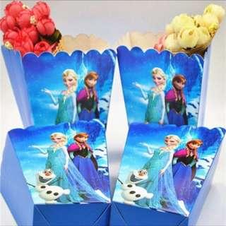 ❄️Frozen party supplies - popcorn boxes / candy bar deco / party deco