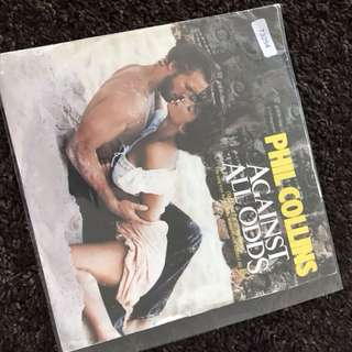 """1984 Phil Collins - Against All Odds ( 7""""Vinyl Record )"""