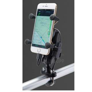 Handphone Holder (Xgrip Handlebar mount)