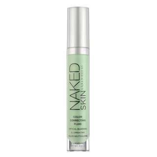 Naked Skin Colour Correcting Fluid (green)