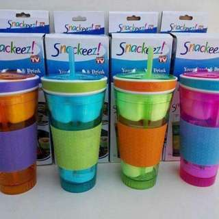Snackeez 2in1 Snack & Drink Cup