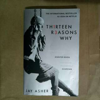 Thirteen 13 reasons why by Jay Asher as seen on Netflix