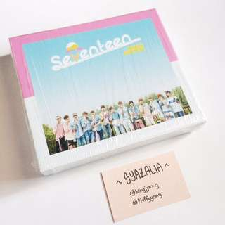 Seventeen Love & Letter repackage album