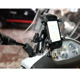 Handphone Holder Mirror Mount