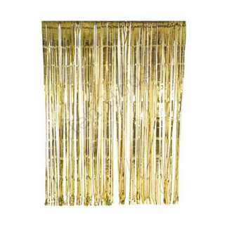 Gold Foil Curtain