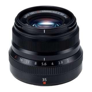 🚚 Fujifilm XF 35mm f2.0 R WR Lens (Black) Brand New