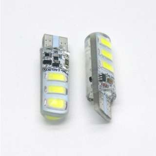 LAMPU SEN COLOK 6 LED FLASH WHITE (ISI 2 PCS)
