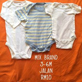 3-6m Baby Rompers
