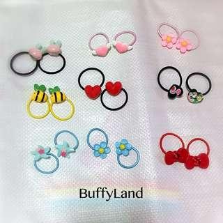 Toddlers hair clips/ hair ties