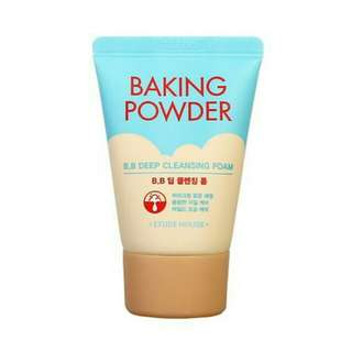 Baking Powder Deep Cleansing Foam