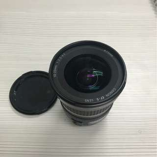Canon wide lens EF-S 10-22mm USM