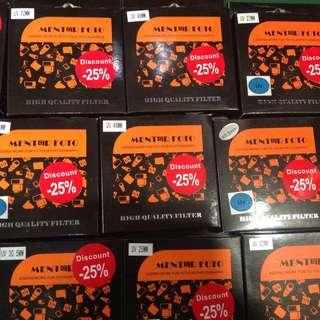 Discount 25%🏃🏼Lunar year UV filters