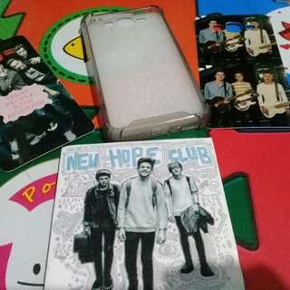 Interchangeable case for J2 prime ONE DIRECTION AND NEW HOPE CLUB