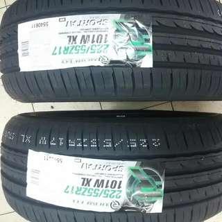Rovelo 225/55ZR17 Sport A1 Tyre