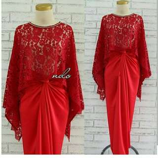 Baju 1set red