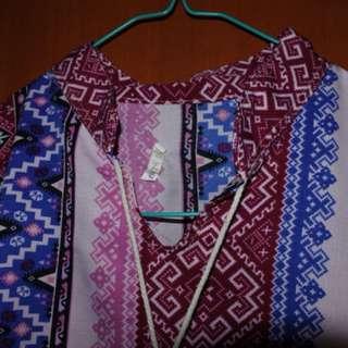 Blouse boho boheiman pattern
