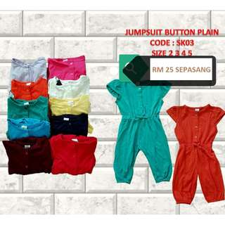 Jumpsuit plain