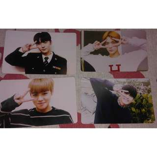 WANNA ONE COMEBACK SHOW PHOTOCARD DUPLICATE