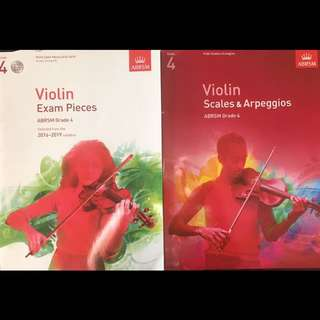 ABRSM Grade 4 Violin Exam Pieces 2016-2019 & Scales and Arpeggios