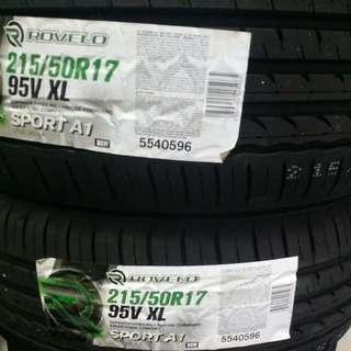 Rovelo 215/50R17 Sport A1 Tyre