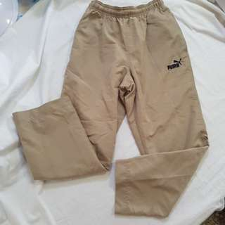 Track Pants (Unisex) - Beige - For 9 to 10yrs old
