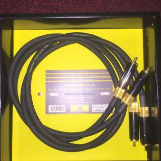Nanotec 1m and 1.8m rca interconnect