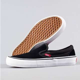 Vans Slip On Pro Suede Black
