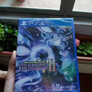 NEW! Megadimension Neptunia VII PS4 Brand New