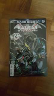 Batman who laughs Batman metal
